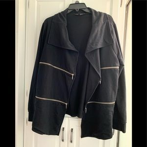 Rock & Republic black zipper jacket XL